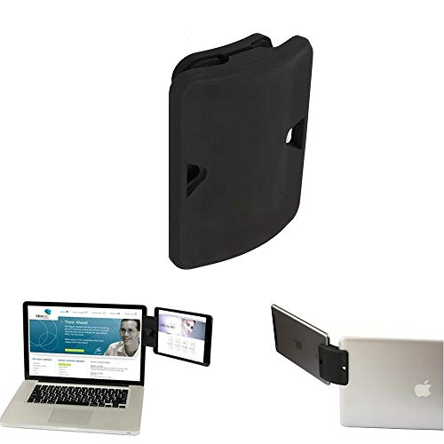 Side Clip Mount - KEHANGDA Side Mount Clip for Dual- Triple- Monitor Clip, Dual Monitor Stand Mountie Clip Ipad Monitor Mount Stand Tablet & Phone Bracket Connects Tablet/Smartphone