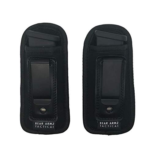 Universal Magazine Holster IWB Clip | 2 Pack | 9mm for sale  Delivered anywhere in USA