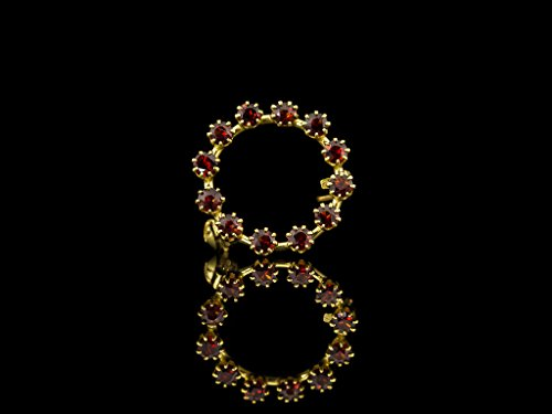 OCH | 12 supreme stones set in solid 9ct Gold (Free shipping) (9 Ct Gold Set)