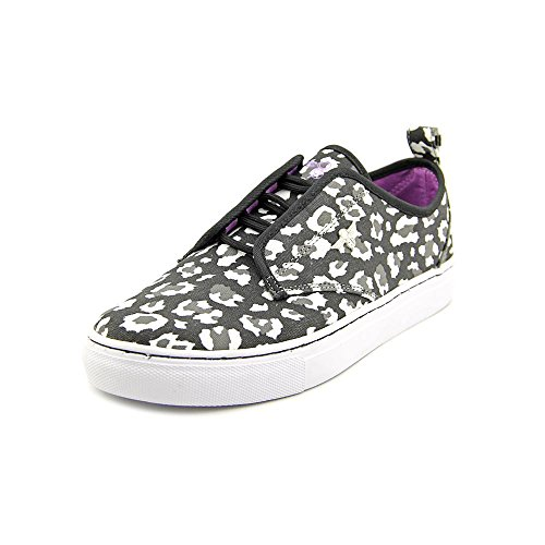 Creative Recreation GS Lacava Youth Girls Size 5 Black Canvas Sneakers Shoes