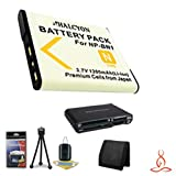 Halcyon 1200 mAH Lithium Ion Replacement NP-BN1 Battery + Memory Card Wallet + NP-BN1 Replacement Lithium Ion Battery + Deluxe Starter Kit for Sony Cyber-shot DSC-TX30 Digital Camera and Sony NP-BN1