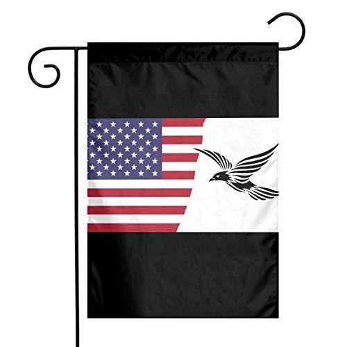 American Voler Conception Oiseau Tribal Fashion Outdoor/Indoor Decorative Flag Celebration Garden Flag 12