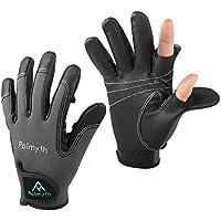 Palmyth Neoprene Fishing Gloves for Men and Women 2 Cut...