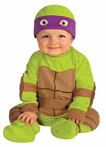 7f502a392d5 Rubie's Costume Baby's Teenage Mutant Ninja Turtles Animated Series Baby  Costume Multi 0-6 Months