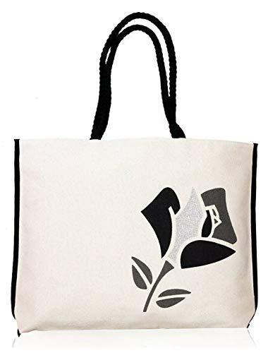 Original Lancome Black Lace Rose Flowers Makeup Bag/Cosmetic Bag/Make-up Bag