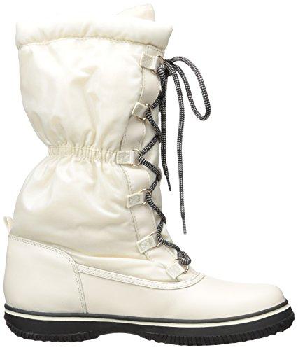 Round Winter Toe Chalk Sage Rubber Canvas Boot Coach pxaZTZ