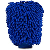 Ultimate Car Wash Mitt - 2 pack Extra Large Size - Premium Chenille Microfiber Wash Mitt - Wash Glove - Lint Free…