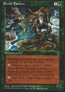 Magic: the Gathering - Elvish Farmer - Fallen Empires
