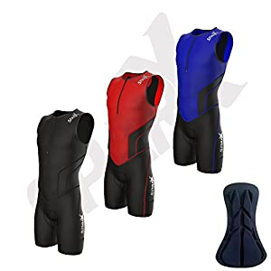 Sparx X Triathlon Suit Men Racing Tri Cycling Skin Suit Bike Swim Run