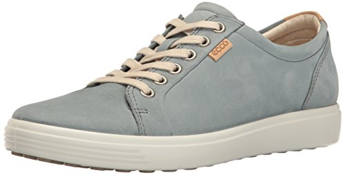 Sneakers Soft Trooper Bleu Basses Ecco Bleu Femme 7 E8qw7