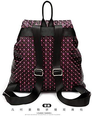 Xinbao Fashion Dos Pack Sac Girl À Géométrique Sequins Silicone PikOXuZ