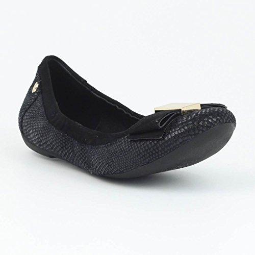 Bailarinas mujer XTI combi negro -46064- Negro