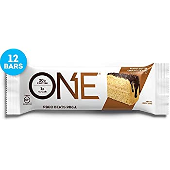 ONE Protein Bars Peanut Butter Chocolate Cake Gluten Free With 20g