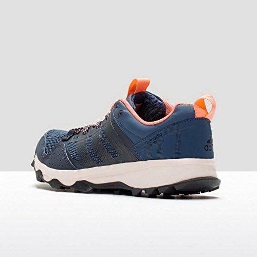 adidas Kanadia 7 Tr W, Zapatillas de Running para Mujer Azul / Rojo (Azumin / Maosno / Brisol)