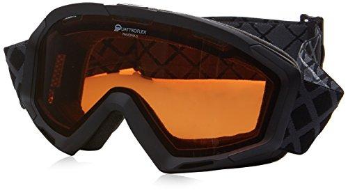Alpina Panoma S QH Masque de ski Noir Mat