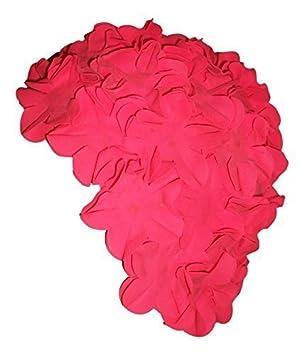 Bonnet De Bain Avec Fleurs Rose Pour Femme Vintage Retro Style