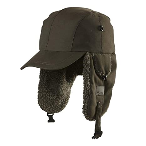 Amazon.com  Chaos Linux Trapper Hat with Brim 2578a6b5725