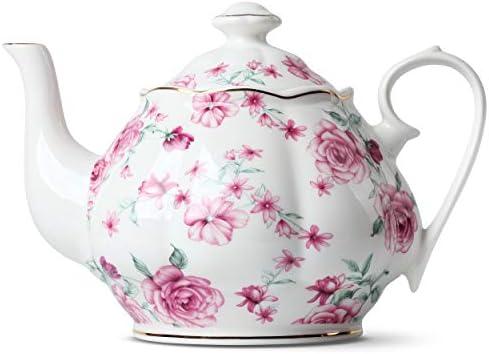 Tea Teapot Porcelain Ceramic Infuser product image