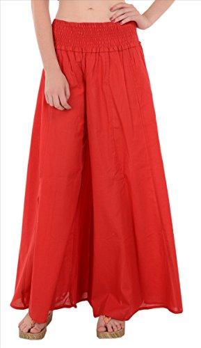 SNS Pure algodón, manga larga Maxi falda Rosso