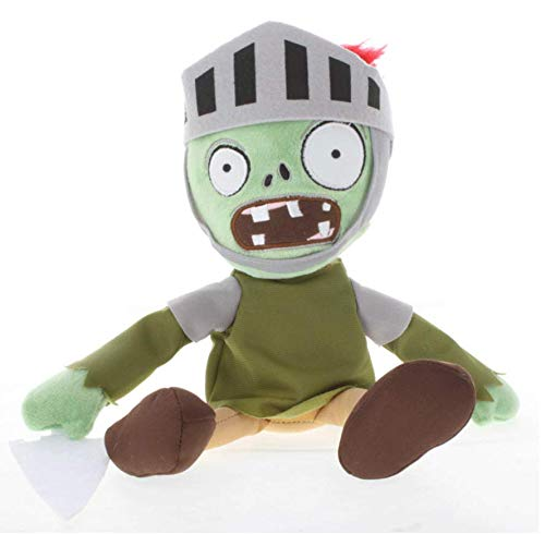 AG Goodies Plants Vs. Zombies Knight Zombie Plush Toys Doll Stuffed Soft Game Doll Funny Gift, 11.8 inch