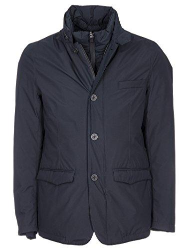 afcfc68e02e Herno Men's Pi074ul111219290 Blue Polyester Outerwear Jacket