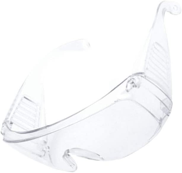 Exceart 2Pcs Protective Safety Glasses Scratch-Resistant Eye Protection For Lab Chemical And Workplace Safety