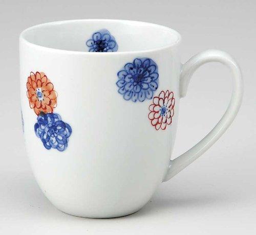 KUTANI YAKI(ware) Coffee Mug Calico by Kutani