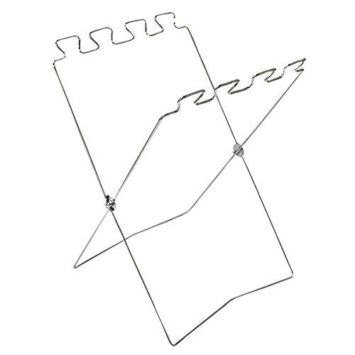 Lothver Outdoor Home Kitchen Metal Folding Floor Trash Bag G