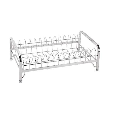 Kitchen Storage Shelf Storage Racks Wall Pot Rack Storage Basket Shelf Baskets Oven Stand 304 Stainless Steel Single-Layer Dish Rack Drain Rack White 244114cm ZHAOYONGLI by ZHAOYONGLI-shounajia (Image #7)