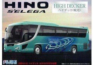 フジミ模型 1/32 観光BUSシリーズ 観光バスシリーズ 日野セレガ HD カタログモデル 未塗装 1/32 BUS17の商品画像