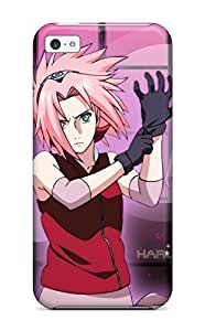 Tpu Fashionable Design Sakura From Naruto Rugged Case Cover For Iphone 5c New by mcsharks