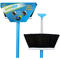 SweepEasy NEW scrape and go broom, as seen on Shark Tank! Duluxe, upright Sweeping broom