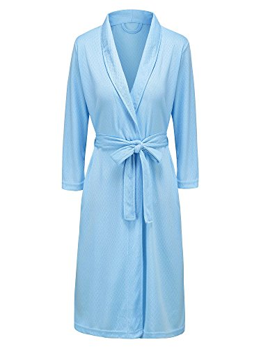 Hellomamma Bathrobe Knee Length Lightweight Dressing