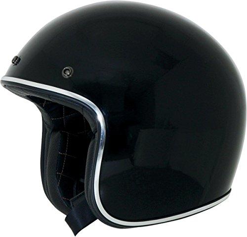 Afx FX-76 Open Face Helmet Black Chrome XXXXL/XXXX-Large