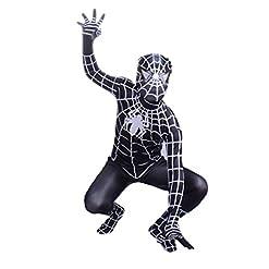 - 41QpNwSZc3L - Wraith of East Black Superhero Boys Halloween Costume Cosplay Full Bodysuit Zentai