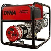 Winco DL6000I Industrial DYNA Portable Generator, 6,000W Maximum, 162 lb.