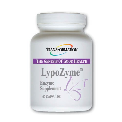 Transformation Enzymes - LypoZyme 60 caps - Supports Healthy Fat Digestion, Weight Management, Cardiovascular Health (Fat Digestion Gall Bladder)