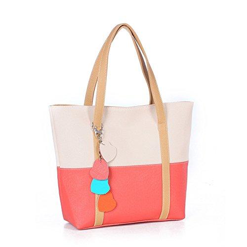 l Cm bolsos De Bolsa X Blanco Shopper Wewod Bandolera h Baratos 31 10 w bolso Mujer bolsa Piel 38 Grande Viaje Hombro TtwtUdq5x