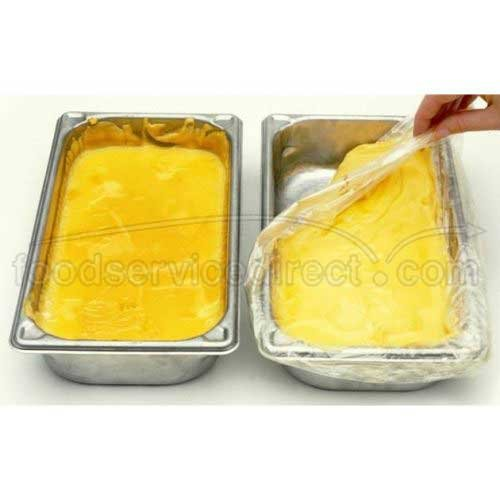 M and Q Packaging Corp ScrubSaver Third Steam Table Pan Liner - Medium and Deep - 250 per case.