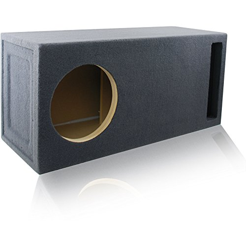 - 3.0 Cu. Ft. Ported/Vented MDF Sub Woofer Enclosure for Single 12