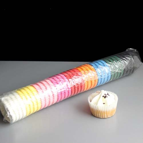 Mixed Colour Market High Quality Mini Muffin or Mini Cupcake Cases (Pack of 540)