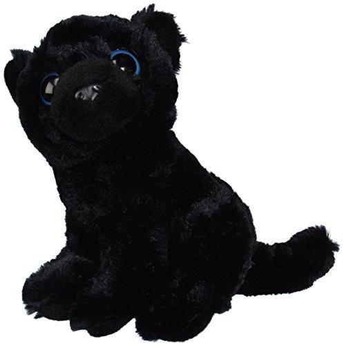 Fiesta Toys Sitting Black Panther with Big Eyes Plush Stuffed Animal Toy, 9