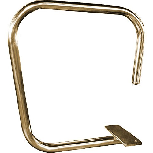 Service Bar Rail - Single Arm - Screw Mount - 1'' OD - Solid Brass by KegWorks