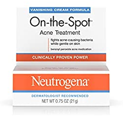 Neutrogena On-The-Spot Acne Treatment With Benzoyl Peroxide, 0.75 Oz. (Pack of 6)