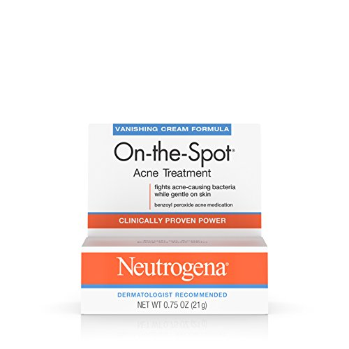 Neutrogena Spot Acne - Neutrogena On-The-Spot Acne Treatment With Benzoyl Peroxide, 0.75 Oz. (Pack of 6)