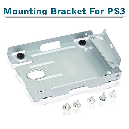SaiTech 2.5 Hard Disk Drive Mounting Bracket Enclosure/Caddy for PS3 Super Slim Consoles Compatible With PlayStation 3 system (CECH-400x series)