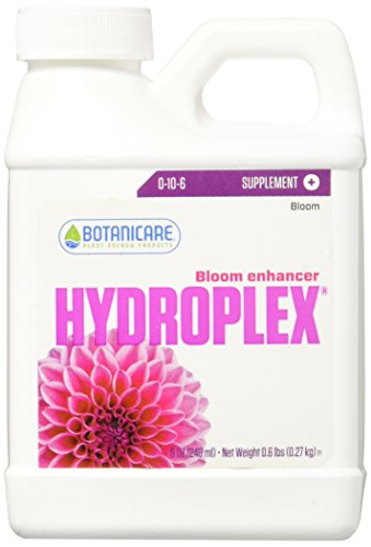 Bloom Enhancer Plant Supplement 0-10-6 Formula, 8-Ounce (Hydroponic Formula)