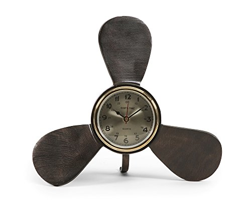 Brass Propeller - Imax 89433 Tidus Clock