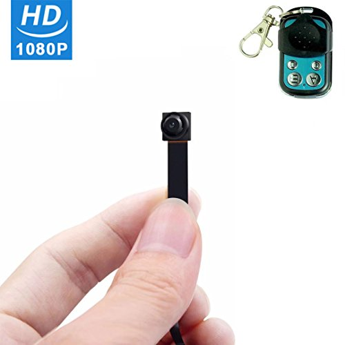 HD 1080P Spy Hidden Mini Camera - ENKLOV Video & Photo Camcorder Security Nanny Portable Cam with Motion Detection,Wireless Remote Control from ENKLOV