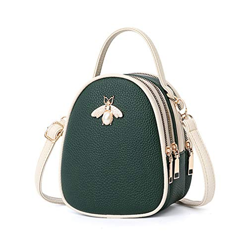 Bags Leather Nafanio For Shoulder Green Women Luxury Crossbody Handbag zww5CPq